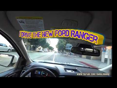 I drove the  Ford Ranger before it hit the Dealerships!!!(Bronco news too)