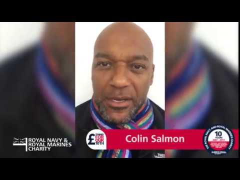Colin Salmon with a Happy 10th Birthday message
