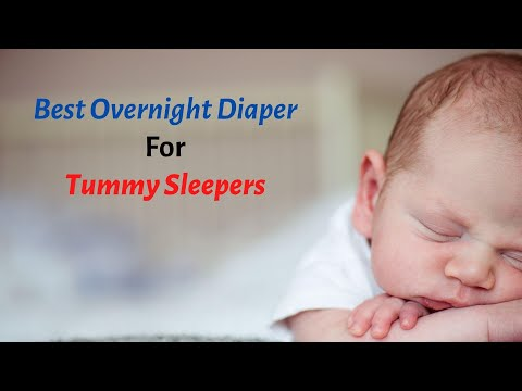 Best Overnight Diaper For Tummy Sleepers – Top 5 Reviews Of 2020