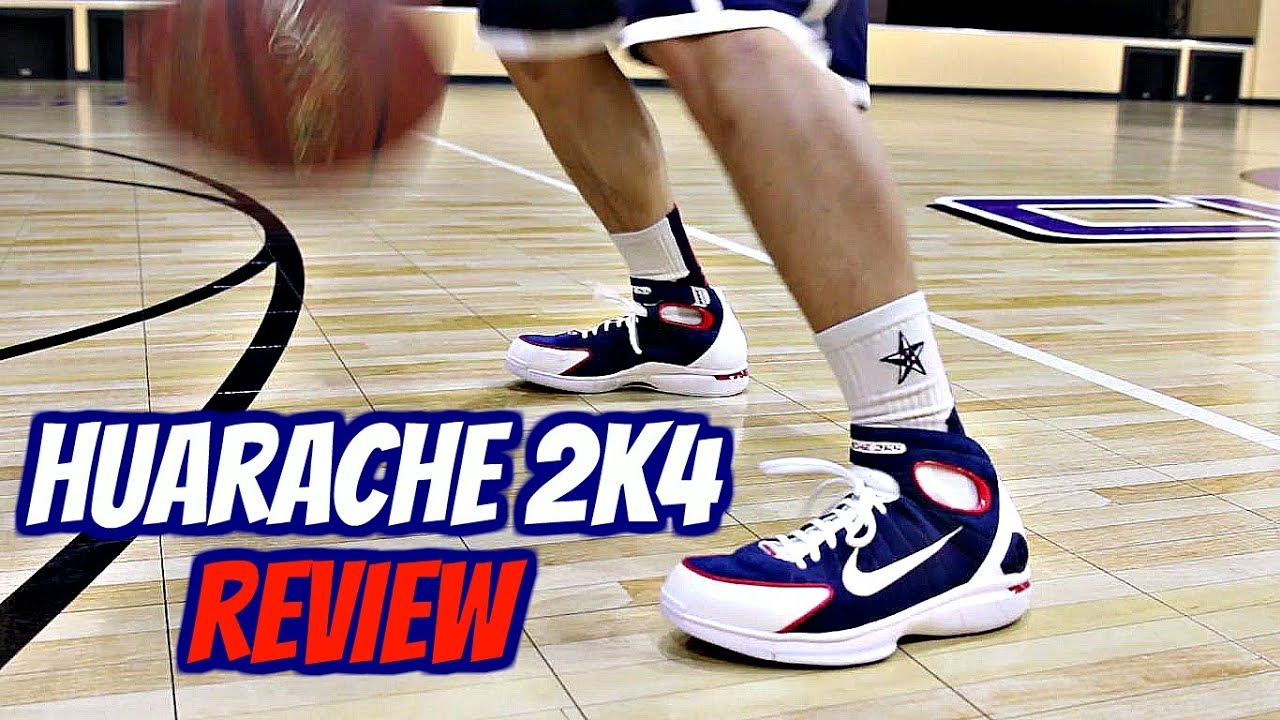 the best attitude 8689a c6ef0 #THROWBACK - Nike Huarache 2k4 Performance Review!
