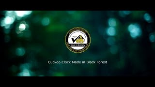 Cuckoo Clock Made In Black Forest (english)