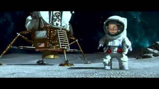Kijk Race naar de Maan - Maanlanding filmpje