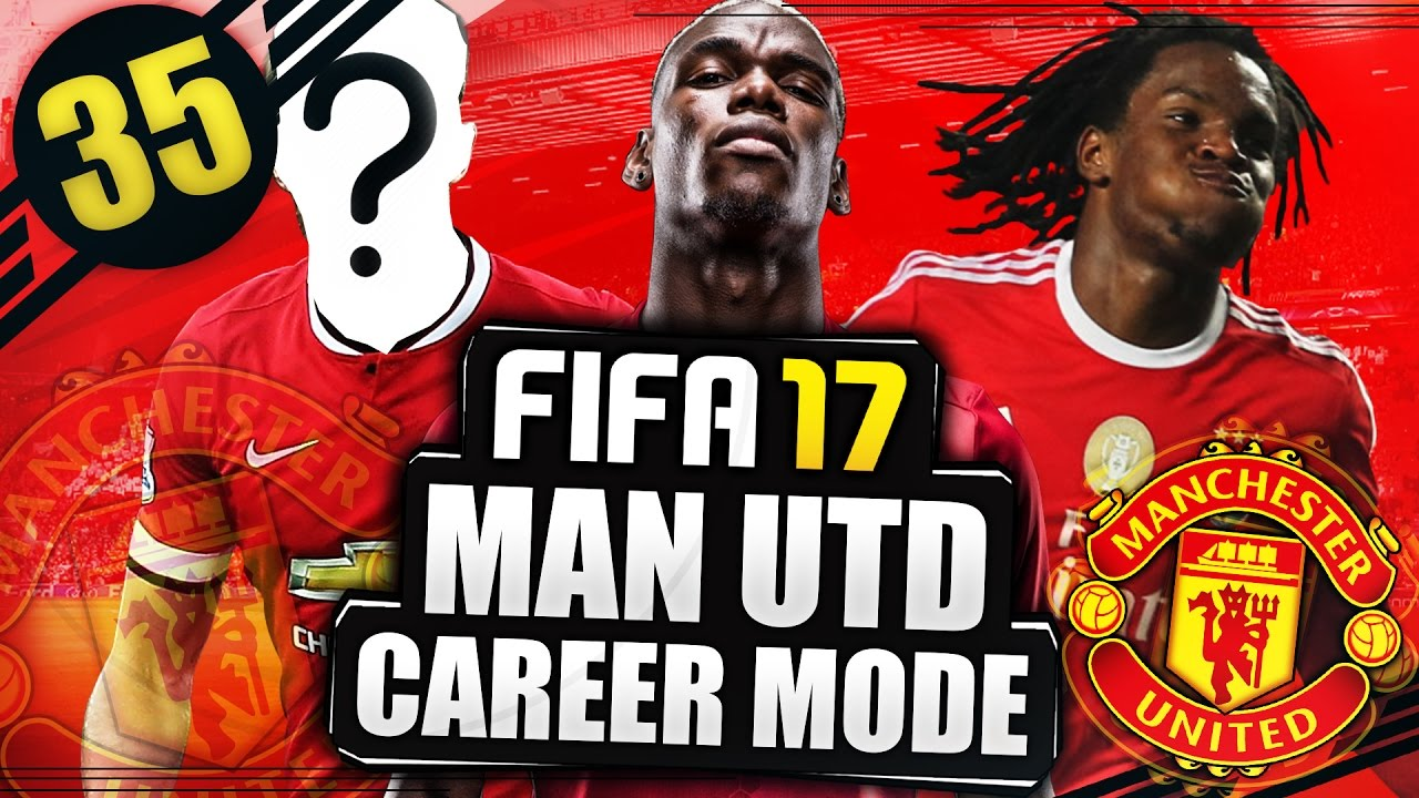 the new pogba fifa 17 manchester united career mode 35 the new pogba fifa 17 manchester united career mode 35