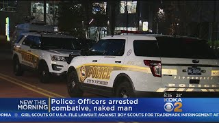 Police: Naked Man Arrested After Jumping On Moving Cars, Yelling At Officers