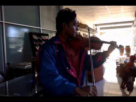 Oba ma hamu una Me ira handa yata ( violin  )