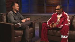 snoop dogg is scared of lady gaga hoppus on music