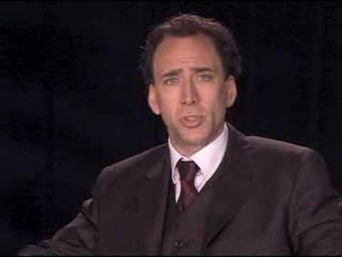 Nicolas Cage speaks out against arms trade