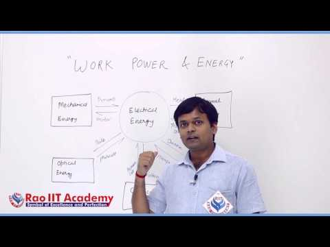 Work Power & Energy Part 1 Physics Pre foundation Std 9th video lecture