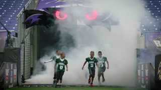Kids Light Up With New Football Gear From Ravens