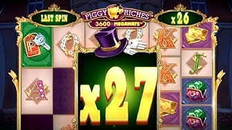 👑 Piggy Riches Megaways Big Win 💰 A Game By Netent And Red Tiger.