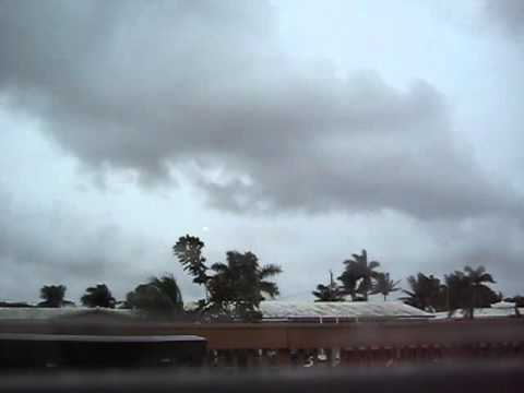 Tropical Storm Isaac Timelapse