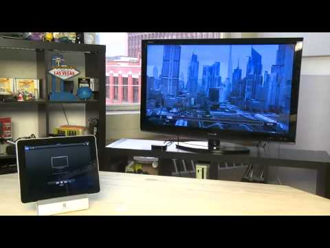 how to use airplay on ipad 1
