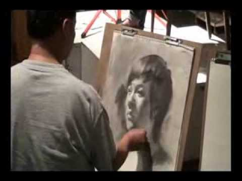 Portrait Drawing Demo by Prof. James Wu