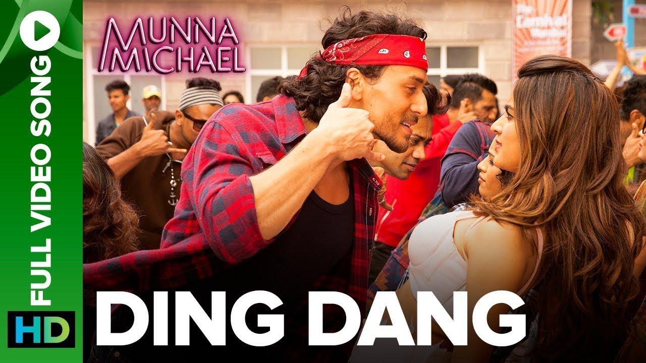 Ding Dang (Full Video Song) | Munna Michael | Tiger Shroff & Nidhhi Agerwal