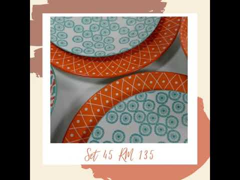 Prettyplates By Anna set 45