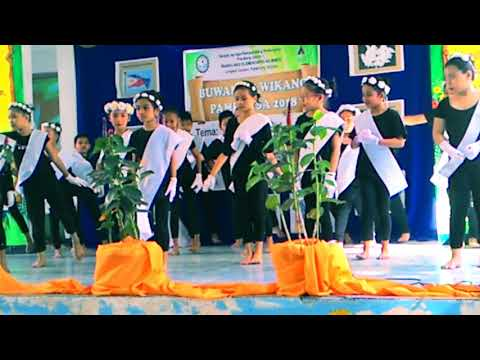 Tagumpay nating lahat/ Buwan ng Wika 2018 Mines Elementary School