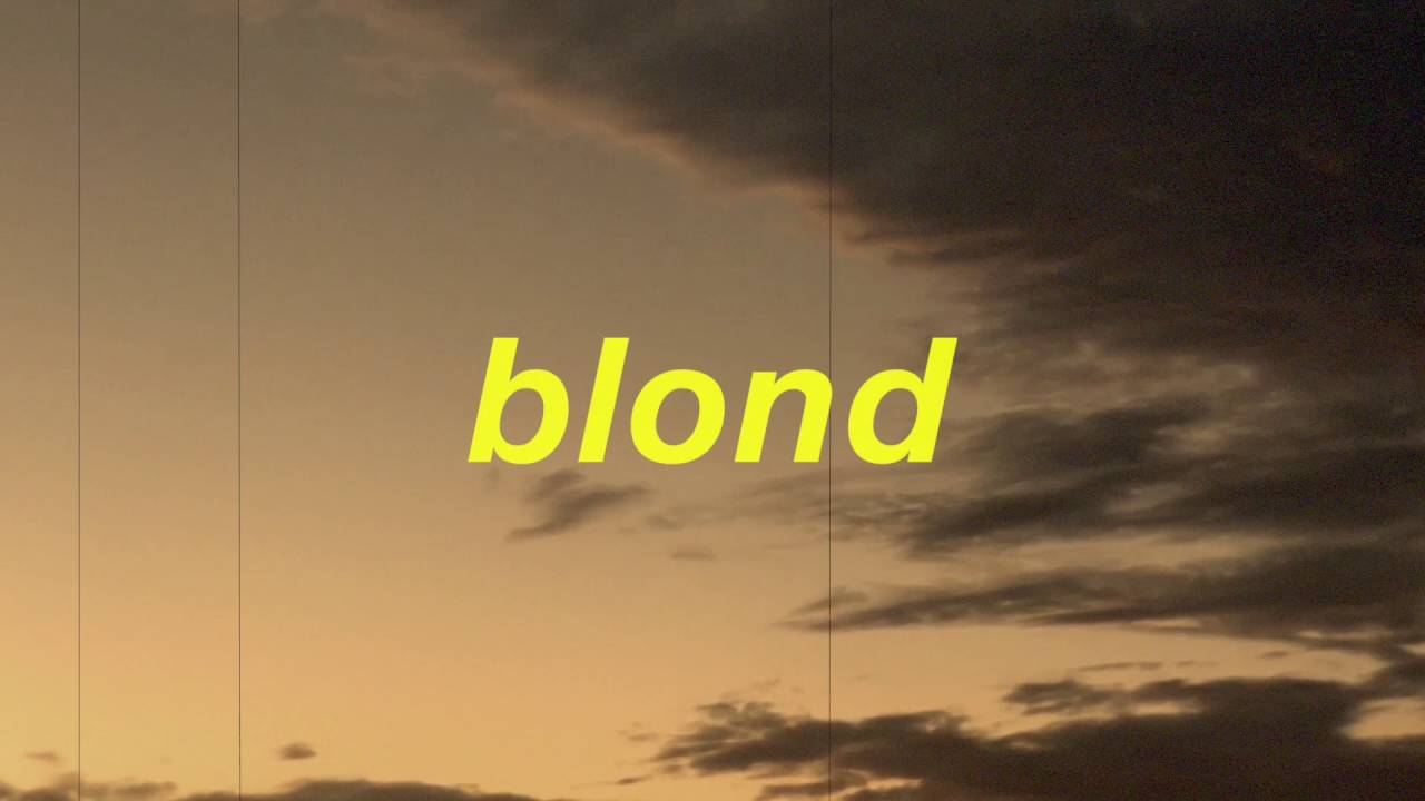 """blond frank ocean -""""be your self"""" and """"white ferrari"""" mix - youtube"""