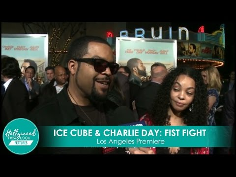 Ice Cube shares FIST FIGHT secrets at Los Angeles Premiere