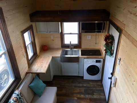 Rustic and Luxurious Tiny House For Sale