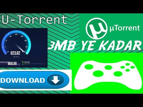 U-Torrent // 2017// En Yüksek Hız !!! // Maximum Speed !!!