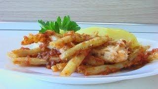 Филе белой рыбы с томатами и фасолью видео рецепт