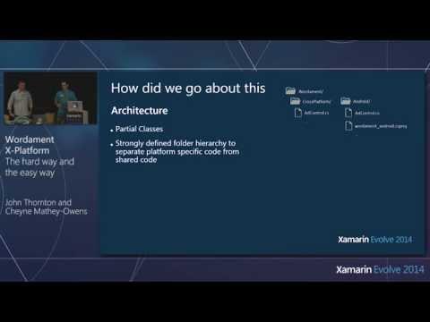 Xamarin Evolve 2014: Wordament: Cross-Platform Apps - Mathey-Owens & Thornton, Microsoft