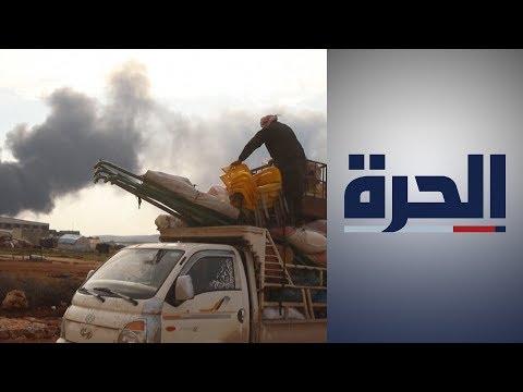 سوريا.. الأمم المتحدة تدعو لفتح ممرات إنسانية للنازحين وتصف أوضاعهم بالمروعة  - 14:59-2020 / 2 / 19