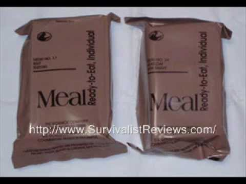 MRE Shelf Life