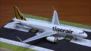 TigerAir A320 unboxing and review