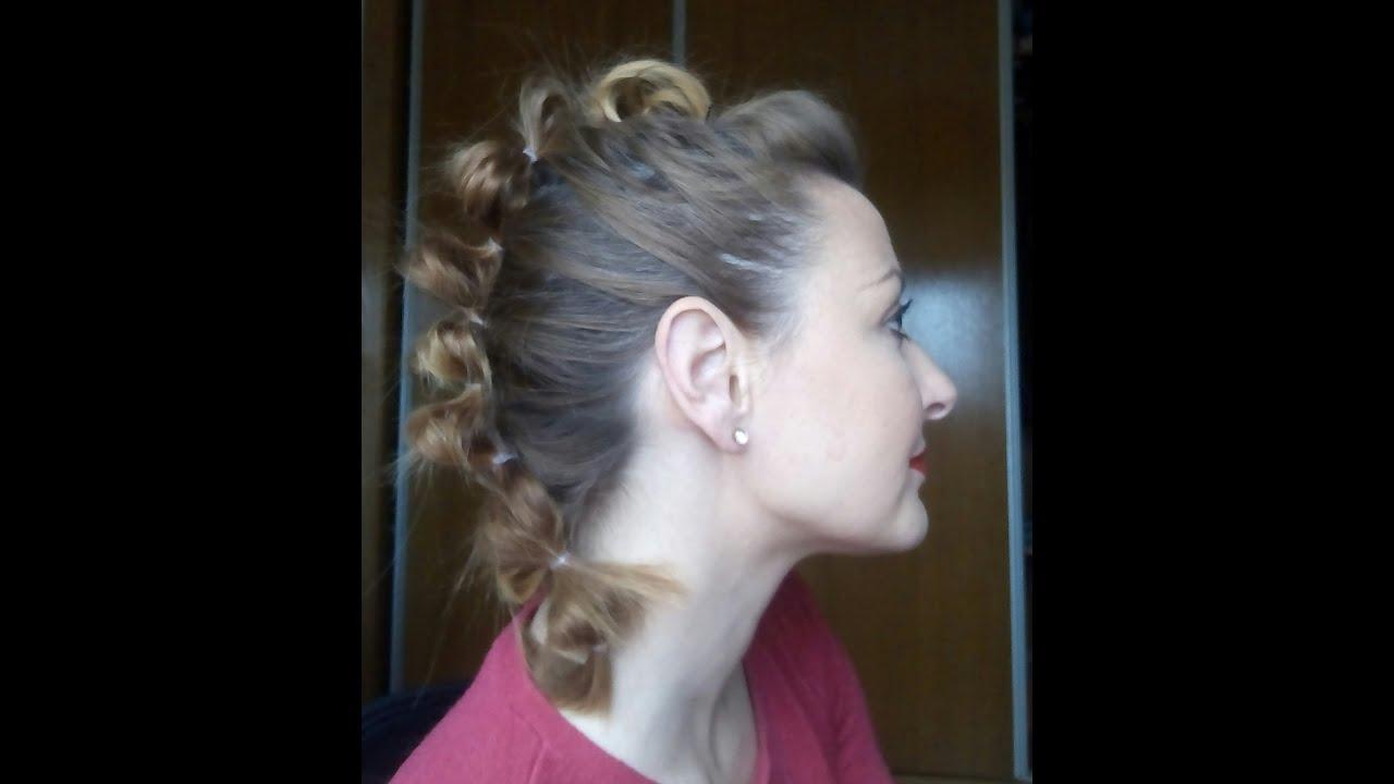 Peinado Estilo Mohicano Nice Hairstyles Youtube