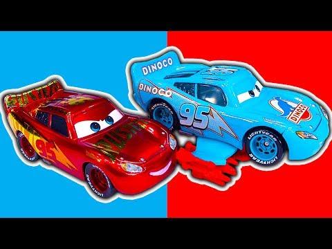 Disney Cars Collection 3 Crash Talking Lightning McQueen Monster Jam McQueen & Cars Collection