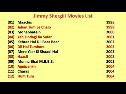 Jimmy Shergill Movies List
