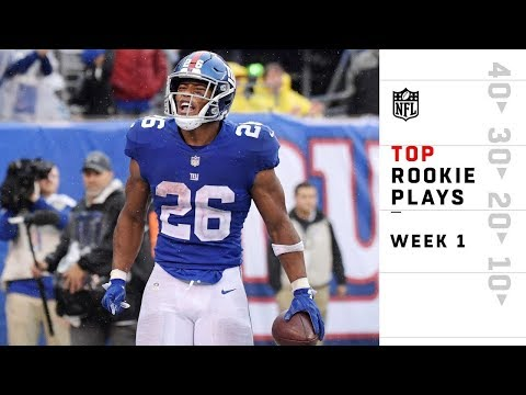 Top Rookie Plays from Sunday | NFL Week 1 Highlights