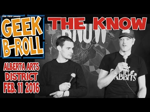 Geek B-Roll: The Know vs. The Developers Feb. 11 2016