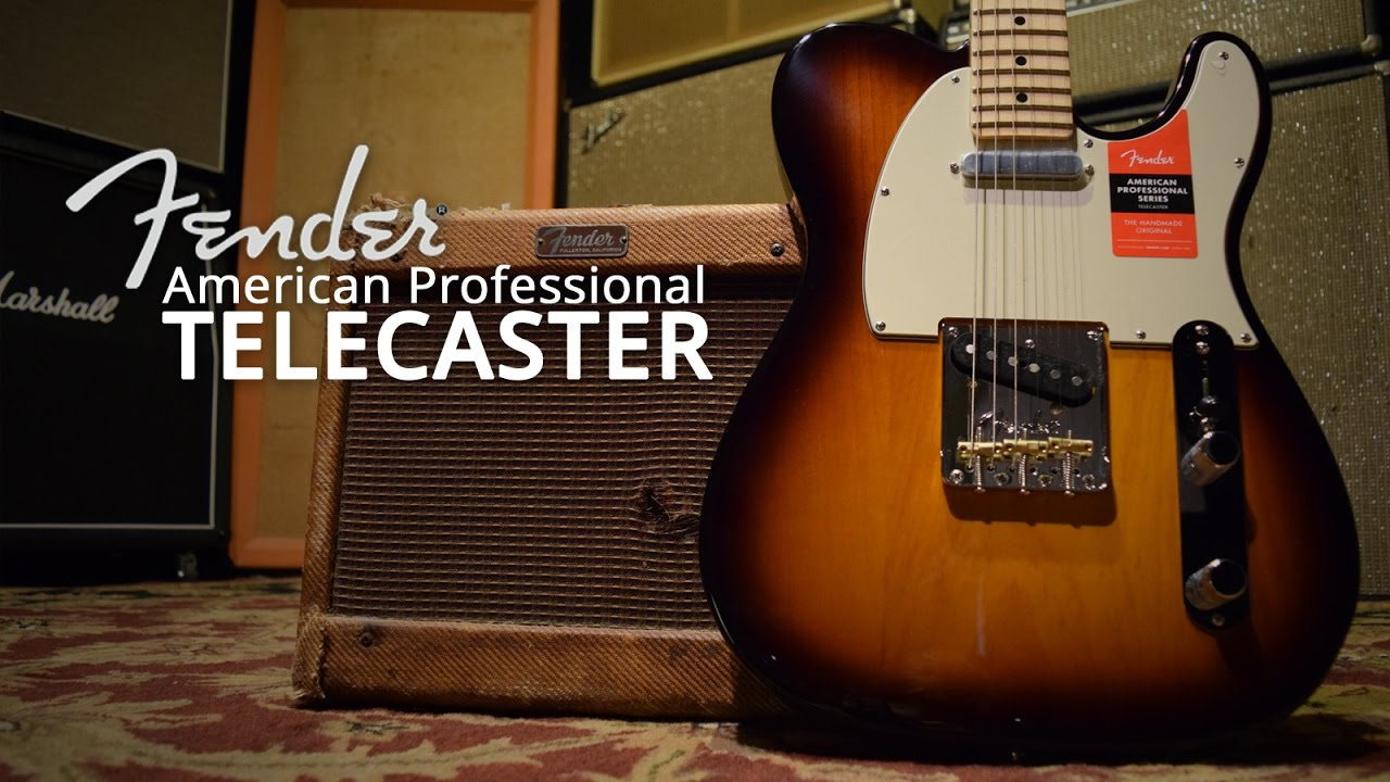 2017 Fender American Professional Telecaster Youtube Series Wiring