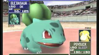 Pokémon Stadium [N64]: Gameplay (Video Capture Test)