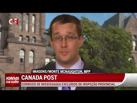 Canada Post - Correios de Mississauga excluídos de inspeção provincial