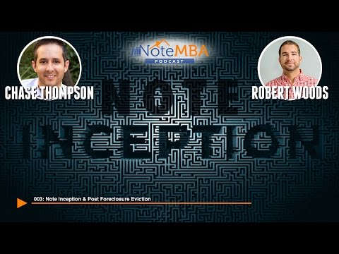 Note Inception and Post Foreclosure Eviction - Note MBA Podcast Ep. 3