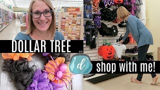 DOLLAR TREE SHOP WITH ME! 🎃 Halloween & Costume Jackpot, NEW Finds, DIY Ideas!