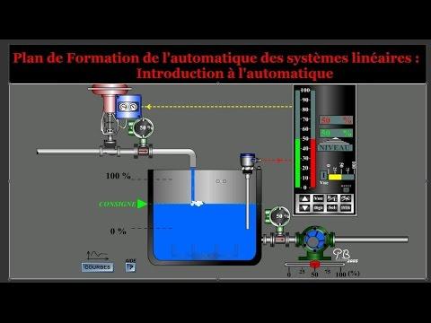 Introduction de l'Automatique :Asservissement et régulation des systèmes linéaires