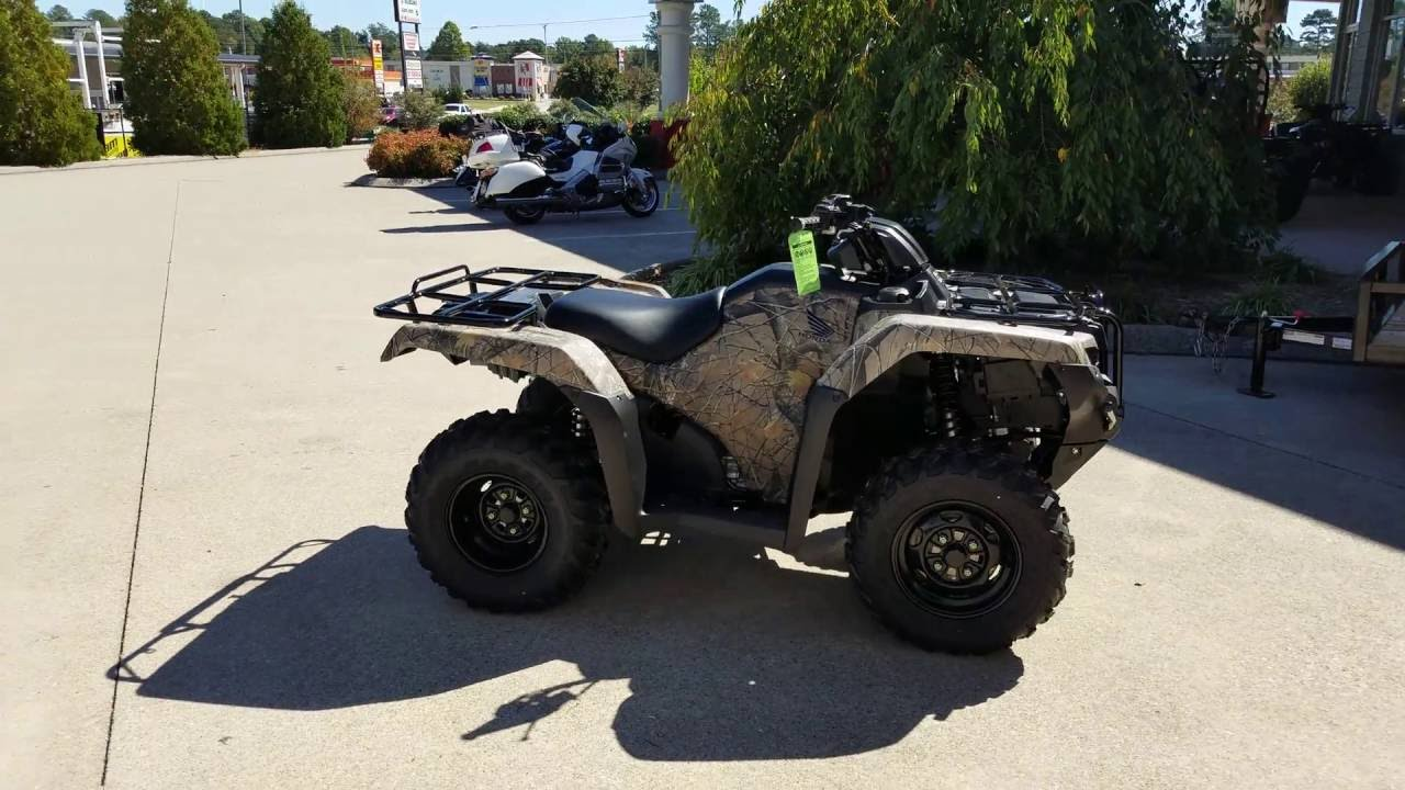 2018 honda rancher 420. unique rancher 2017 honda rancher 420 dct  eps 4x4 atv trx420fa2h walkaround video   camo and 2018 honda rancher