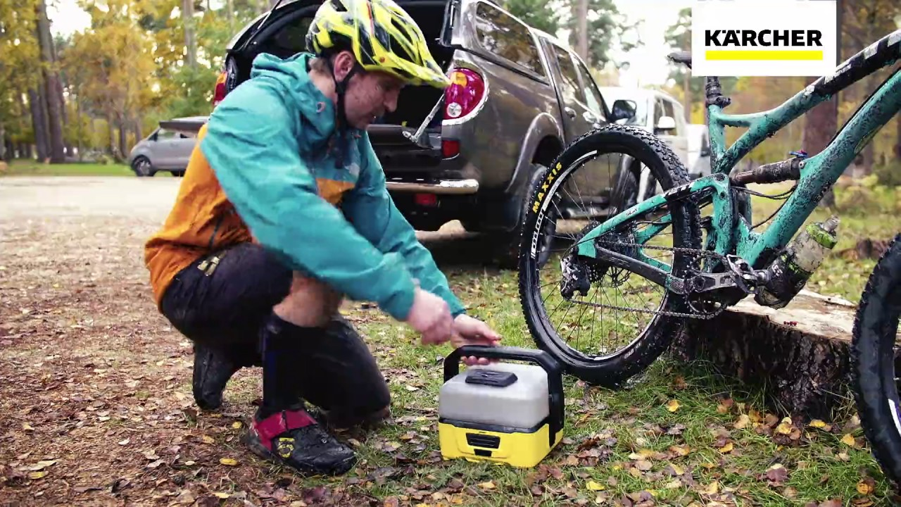 Portable Bike Cleaner Of The Year 2017 Karcher 0c3 Youtube
