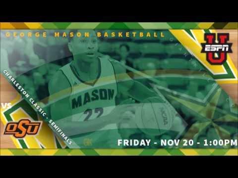 #MasonGameDay: George Mason vs Oklahoma State [Charleston Classic]
