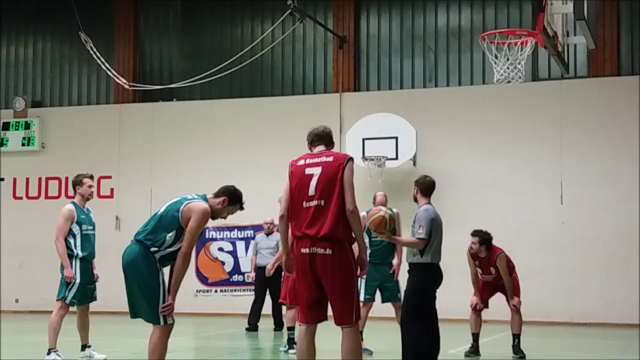 Video Basketball DJK Schweinfurt gegen TTL Bamberg 4  YouTube