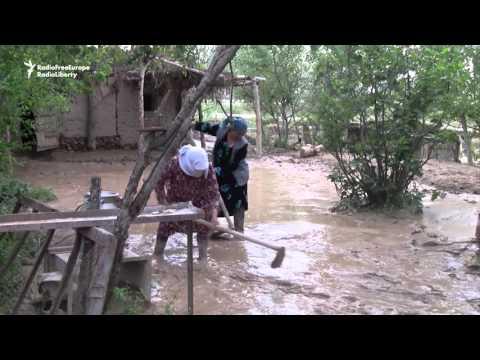 Southern Tajikistan Hit By Heavy Rain, Flooding And Mudslides