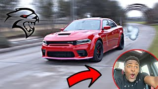FIRST DRIVE IN MY HELLCAT REDEYE CHARGER! *INSANELY FAST*