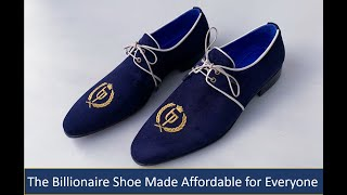World's First Handmade Luxury Shoe with Sizes up to US 18