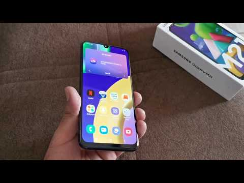 Samsung Galaxy M21 unboxing first impressions the 6000mAh battery phone