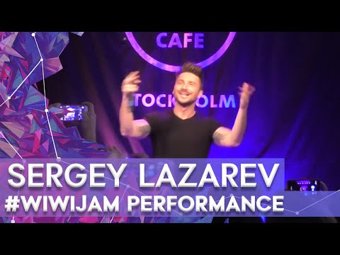 "Sergey Lazarev ""Take It Off"" at the Wiwi Jam Stockholm 