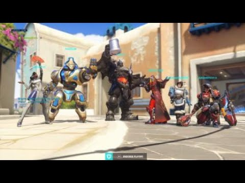 overwatch trying out the group finder youtube